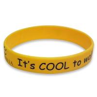Printed silicone wristband 2