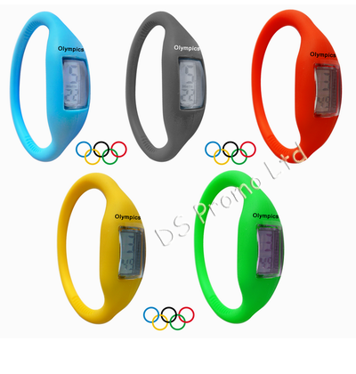 Silicone watch Olympic