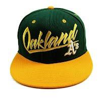 Oakland basketball cap